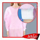 Nichtgewebtes elastisches Stulpe-Lokalisierungs-Wegwerfkleid/chirurgisches Kleid