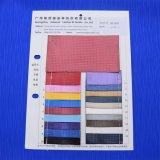 Kleines Gitter-künstliches Satin PU-Leder für Beutel-Schuh-Dekoration