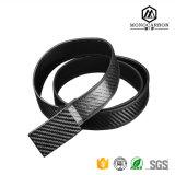 Fascia della tessitura del carbonio degli accessori di modo degli uomini reali della fibra