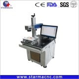 Macchina della marcatura del laser del metallo del tubo di vetro del CO2 di marca di Reci (o tubo del metallo) non