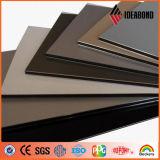 Panneau composé en aluminium d'enduit coloré de PE de faisceau de LDPE de décoration intérieure