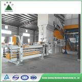 La prensa de balas horizontal Máquina / Prensa hidráulica de los residuos de enfardado de cartón / máquina empacadora de residuos de papel