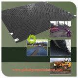 Aufbereitete temporäre Straßen-Matte/Auflagen der 100% Größen-Custom/HDPE/UHMWPE Material
