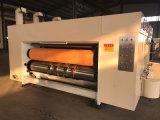 Máquina que ranura y que corta con tintas de la impresión en color del alimentador 2 de cadena Semi-Autos