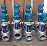 Válvula de alívio de segurança de pressão de rosca macho (GAA27H)