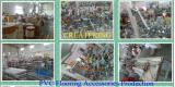 Revestimento Laminado de 15mm T Moldagem Perfis Usáveis de PVC