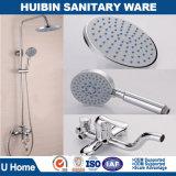 El cuarto de baño Sanitarios de latón cromado 3 Funciones Conjunto de ducha