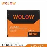 Bateria original nova do telefone móvel de 100% para Lenovo Bl210