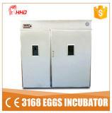 Яичко 3000 инкубаторов яичка цыпленка яичек цыпленка полноавтоматическое