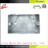 La lega di alluminio il coperchio di interruttore della pressofusione utilizzato nell'illuminazione del LED e nell'unità del macchinario