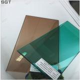 녹차 색깔을%s 가진 6mm 부드럽게 한 박판으로 만들어진 유리