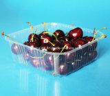bandeja plástica de la fresa del animal doméstico de la bandeja de la fruta 800g