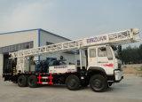鋭い深さ600mのトラックによって取付けられる回転式井戸の掘削装置