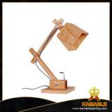 Lampe de bureau en bois Antique lampes artisanal en bois (LBMT-XG)