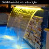 스테인리스 수영풀 물 커튼 뜰을 만드는 옥외 벽 샘 폭포
