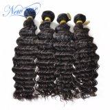 Gruppi profondi indiani & Frontal dei capelli umani del Virgin dell'onda del grado superiore poco costoso