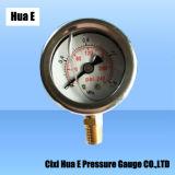 40mmの防蝕ステンレス鋼の圧力計