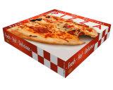 Коробка пиццы печатание бумажная, оптовые продажи коробки бумажной пиццы низкой стоимости упаковывая