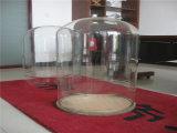 大きい直径のゆとりのガラスガラス鐘の鐘カバー