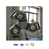 Ceiling Mounted Satellite Head Veterinary Surgery LED Shadowless Lamp (YD02 - LED3)