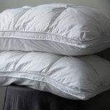 綿カバーアヒルは枕3つの層にガセットの羽をつけ、