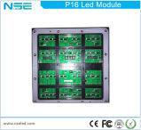 Armário de LED boa resolução P16 Módulo de LED de exterior