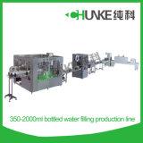 Ligne de remplissage de bouteilles des CK pour l'usine de production de l'eau