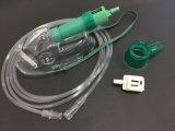 Het Zuurstofmasker van pvc met Diluter voor Voor éénmalig gebruik