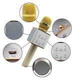 Диктор Q7 Bluetooth микрофона Karaoke KTV беспроволочный для партии нот