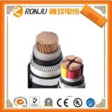 Низкое напряжение питания 4 Core 16мм2 меди (Cu) / XLPE изоляцией / стальной ленты бронированные / кабель питания из ПВХ