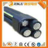 Cabo distribuidor de corrente Sheathed PVC isolado PVC de cobre (PE)/de alumínio do condutor