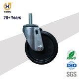 3 '' /4 '' /5 '' PA/PP/PU/TPE/Rubber Laufkatze-Schwenker-Fußrollen-Rad mit seitlicher Bremse