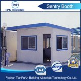 Casa de protector prefabricada de seguridad del panel de emparedado