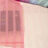 Tela tingida do poliéster do jacquard para a matéria têxtil da HOME do vestuário do vestido da mulher