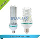 유리제 LED 옥수수 빛 12W는 세륨을%s 가진 빛을 냉각한다