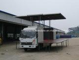 LEIDENE van de Vrachtwagen van de Bevordering van het Stadium van Sinotruk 4X2 het Openlucht6t Voertuig van het Stadium