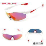 卸し売り白UV400はサングラスの検討の買物のスポーツのゴーグルをオンラインで反スクラッチする