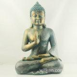 Grande statue heureuse de Bouddha fabriquée en Chine