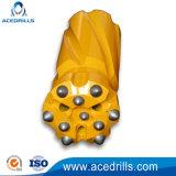 T45 Botão Rosqueado de Retração de brocas de perfuração de poços de água/óleo