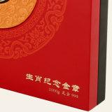 주문을 받아서 만들어진 나무로 되는 동전 전시 패킹 기념품 선물 포장 상자