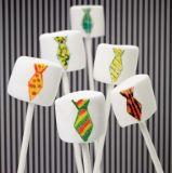 Les marqueurs de plume d'aliments comestibles