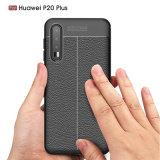Новая конструкция Litchi кожаный футляр для телефона ИЗ ТЕРМОПЛАСТИЧНОГО ПОЛИУРЕТАНА Huawei P20 плюс/P20 Por