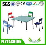 Les meubles en bois d'enfants badinent la table ronde et les présidences (SF-22C)