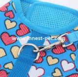 Vêtement de laisse d'animal familier de harnais de crabot d'impression de configuration de mode