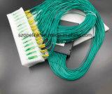 Divisore del PLC della scatola di plastica di telecomunicazione 1X64 di Gpon