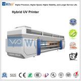 구를 것이다 롤을%s 가진 PVC 비닐 UV 평상형 트레일러 인쇄 기계