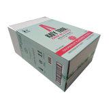 Caixa de empacotamento de papel do vinho do frasco b flauta 6 com divisores