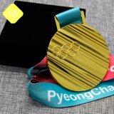 Preis des Metall3d Druckguss-unbelegte kundenspezifische Fußball-Medaille