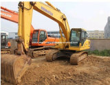 Usadas de excavadora sobre orugas Komatsu PC200-7 Japón Original buenas condiciones de venta