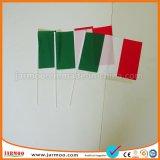 Imprimir el logotipo impreso promocional banderas de la mano